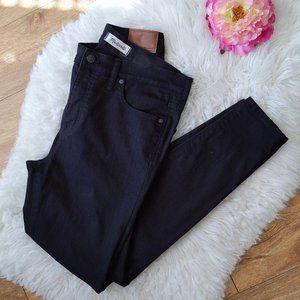 "Madewell | 9"" High Riser Skinny Jeans Black 31"